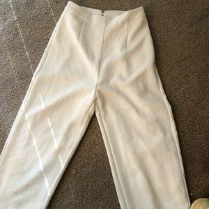 3183eec4b1 kookai Pants - Kookai Oyster white high waisted culottes pants